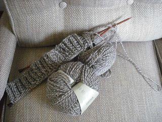 Knittedpillow