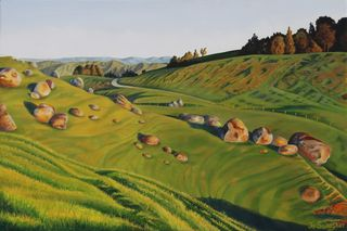 12.The  Hills of Home 20x30 inch